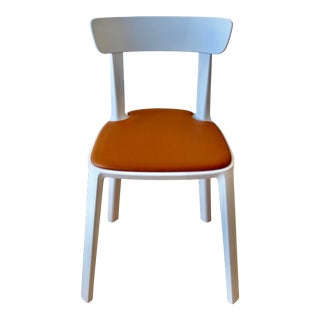 Leather and Cadrea Chair by Industry West For Sale