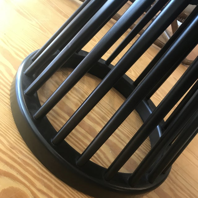 Wood Contemporary Tom Dixon Fan Base Side Table For Sale - Image 7 of 10
