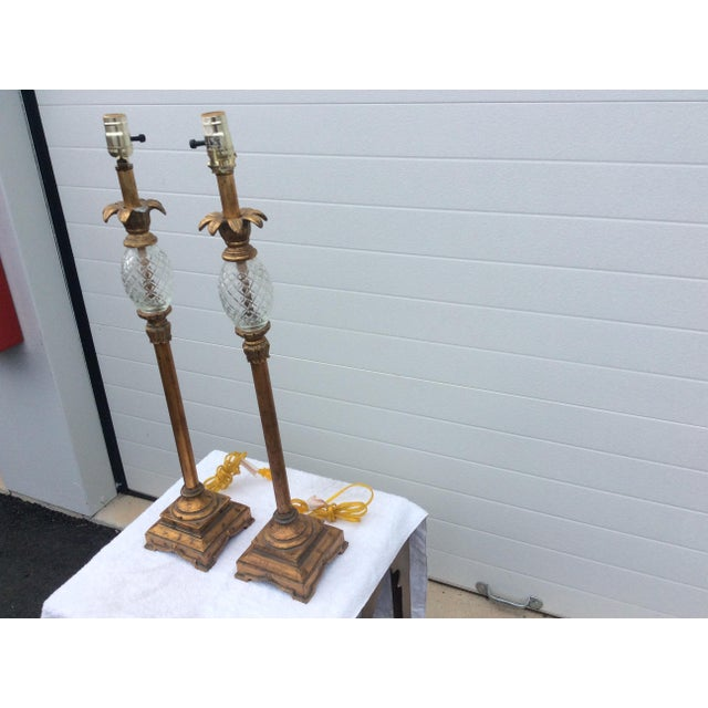 Hollywood Regency Table Lamps - A Pair - Image 5 of 6