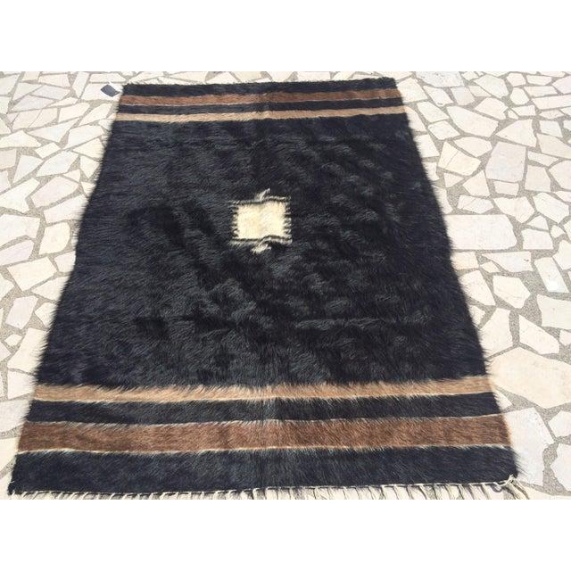 Turkish Handmade Tulu Rug - 4′6″ × 6′6″ - Image 2 of 8