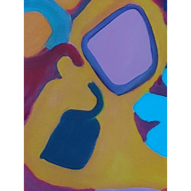 1990s 1990s Richard Youniss Original Inuit Inspired Oil Painting For Sale - Image 5 of 7