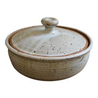 Ken Ferguson Studio Pottery Lidded Casserole Dish For Sale
