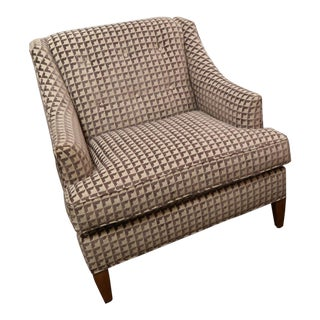 Contemporary Taupe Club Chair -- 4305 For Sale