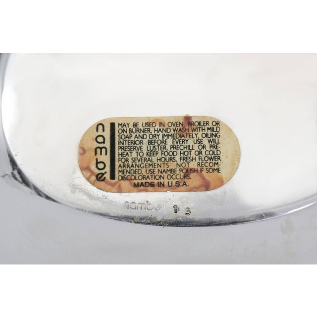 Modern Nambe Serving Bowl For Sale - Image 3 of 3