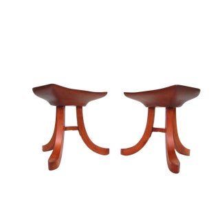 Pair of Stools After Austrian Architect Adolf Loos For Sale