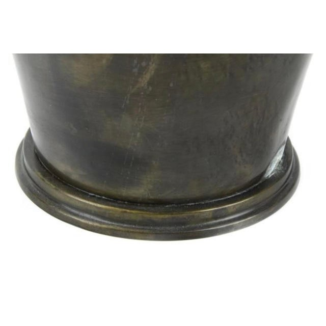 1990s 1990s Bronze Stag Horn/Deer Head Champagne Wine Bucket For Sale - Image 5 of 6