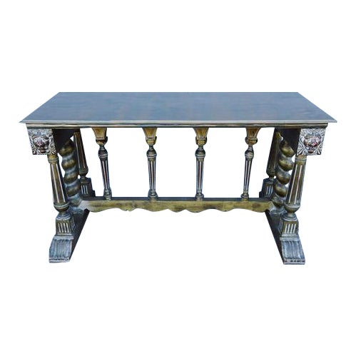 Shabby Chic Imperial Style Coffee Side Table - Image 1 of 8