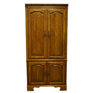 "Kincaid Furniture Solid Walnut 36"" Wall Unit For Sale"