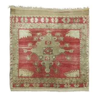 Antique Turkish Sivas, 2'7'' X 2'11'' For Sale