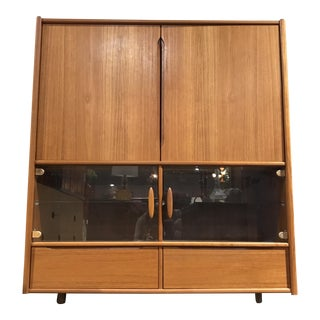 Danish Modern Teak Media Wall Unit