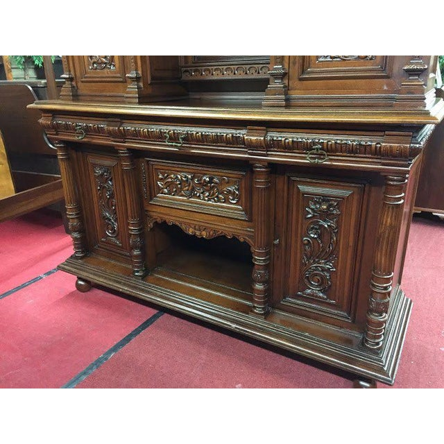 Late 19th Century Antique French Renaissance Style Cabinet For Sale - Image 6 of 13