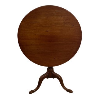 Chippendale Mahogany Pedestal Table, England Circa 1790 For Sale