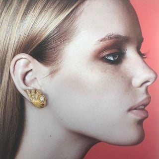 Stunning Haute Couture Shells Earrings by Christian Dior Preview
