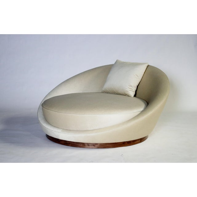Milo Baughman Satellite Chaise Lounge For Sale - Image 10 of 10