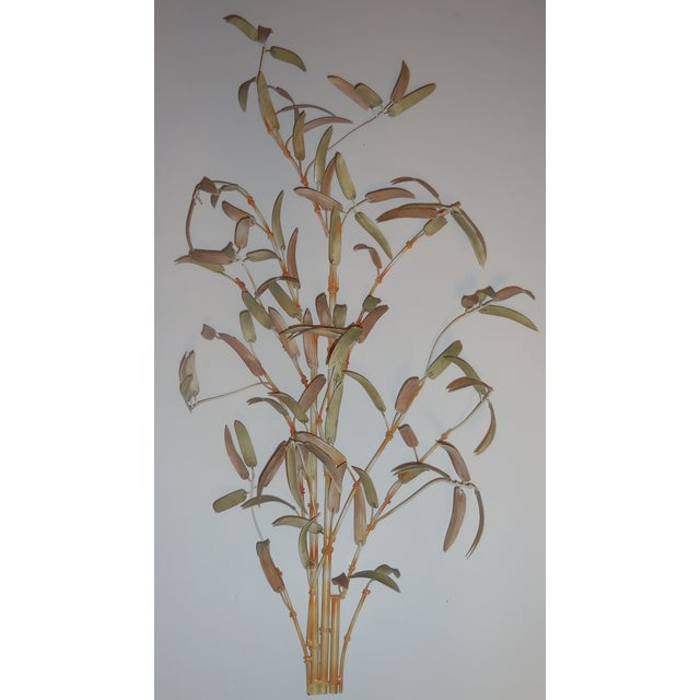 Italian Bamboo Wall Sculptures - A Pair - Image 8 of 12