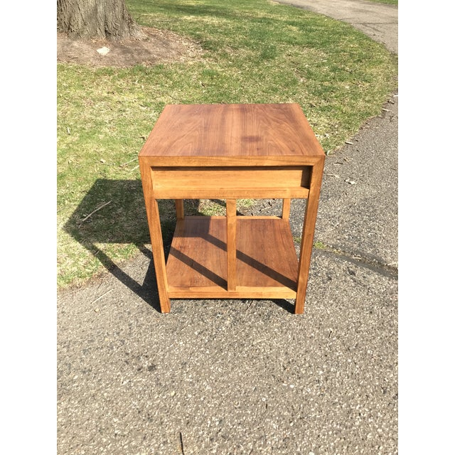 Mid 20th Century Mid Century Walnut Side Table by Widdicomb For Sale - Image 5 of 8