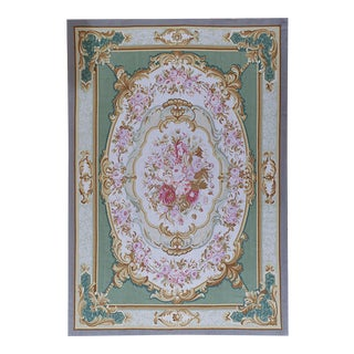 """Pasargad Aubusson Hand Woven Wool Rug - 10' 0"""" X 14' 4"""""""