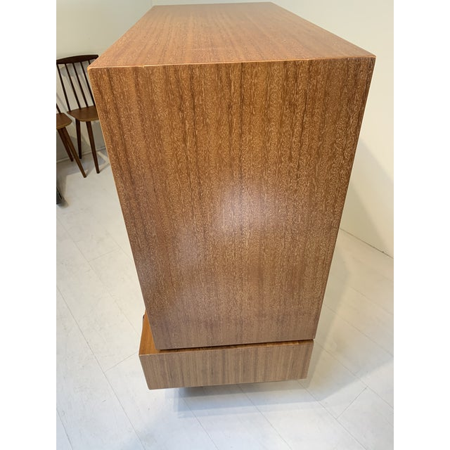 Brown Saltman John Keal for Brown Saltman Mid Century Modern Tallboy Chest of Drawers For Sale - Image 4 of 13