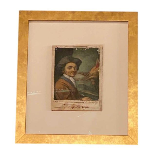 18th Century Italian Prints Newly Framed - Set of 5 For Sale - Image 4 of 9