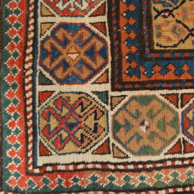 "19th Century Gangeh Carpet - 3'3"" x 9' For Sale - Image 4 of 4"