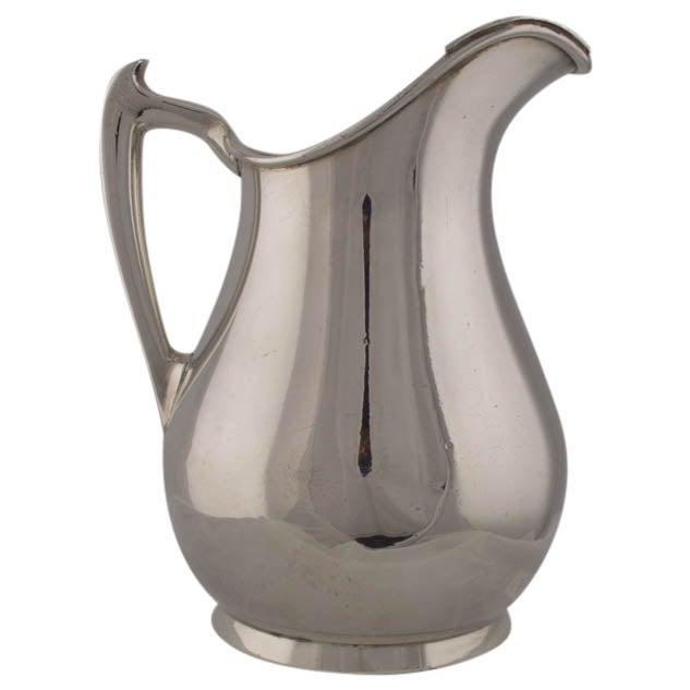 Vintage Silver Plate Water Pitcher or Vase - Image 1 of 9