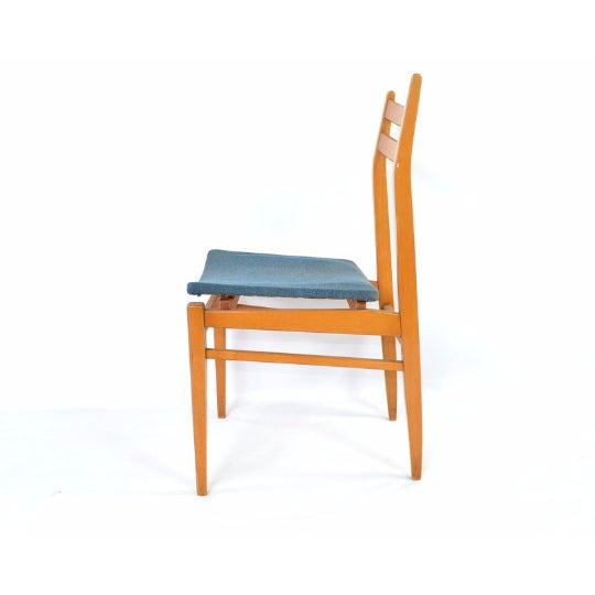 Danish Blonde Modern Chairs - Set of 6 - Image 4 of 6