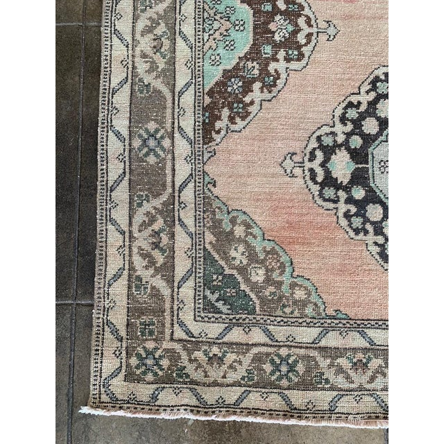 Islamic Vintage, Bold Turkish Runner For Sale - Image 3 of 7