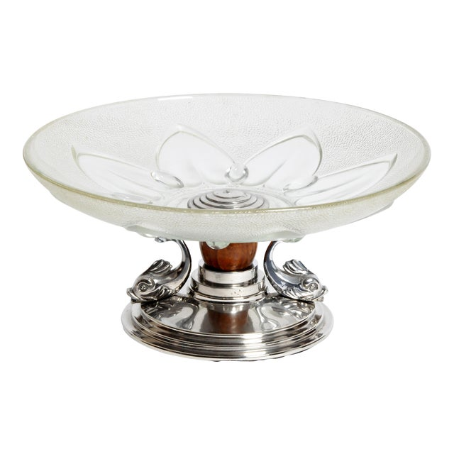 Glass Candy Dish For Sale