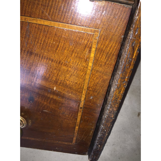 1900s Mahogany Coal Bin For Sale - Image 5 of 6