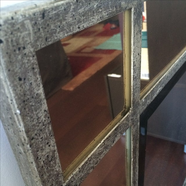 Antique Finish Silver Mirror - Image 7 of 9