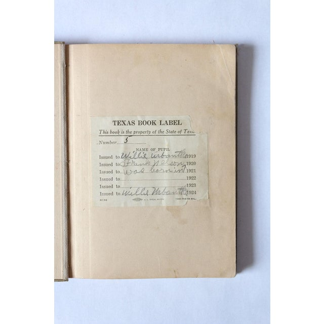 """Americana 1920s """"Oral and Written English"""" School Book For Sale - Image 3 of 9"""