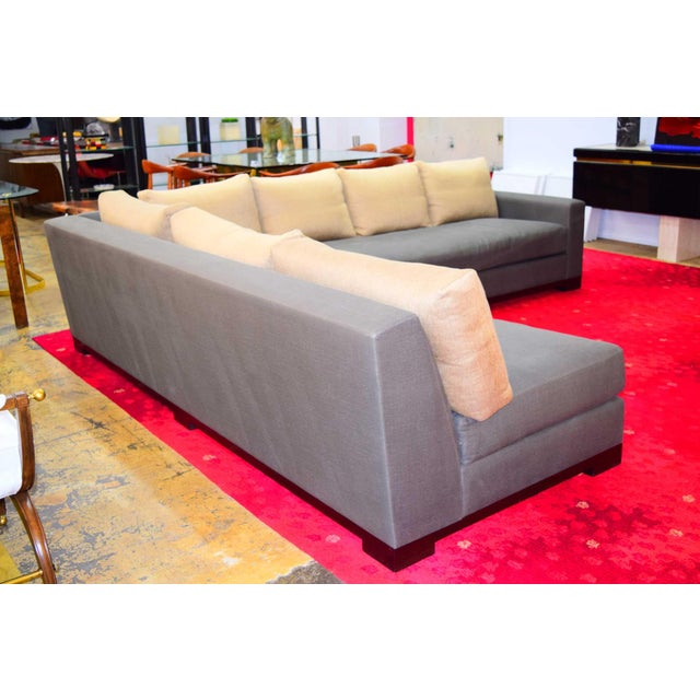 """Christian Liaigre """"Ocean"""" Sectional Sofa For Sale - Image 12 of 12"""