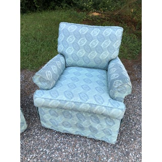 Rowe Furniture Slipcovered Swivel Chairs- a Pair Preview