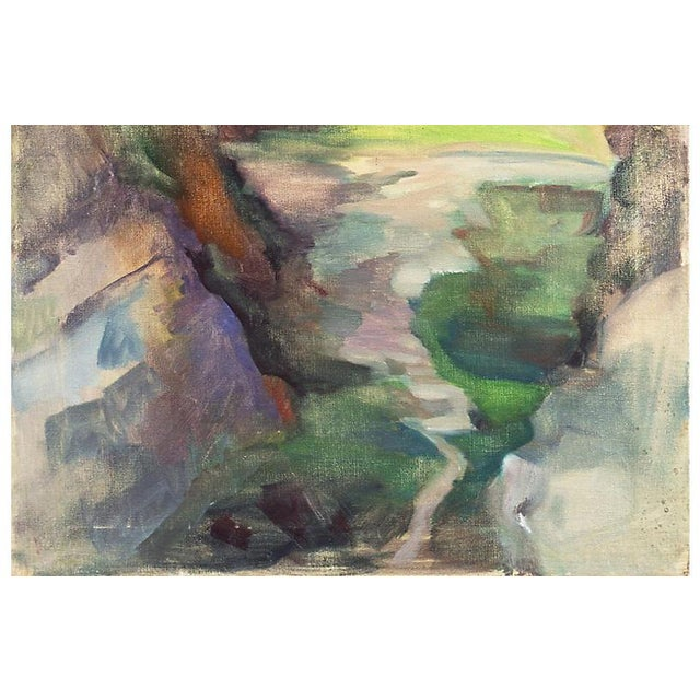 'Springtime River', by Whitman Loftus, 1987 For Sale - Image 4 of 8