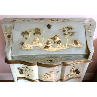 18th/19th Century Venetian Rococo Decoupage & Painted Chinoiserie Writing Desk Preview