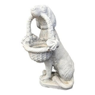 Cement Outdoor Dog Statue For Sale