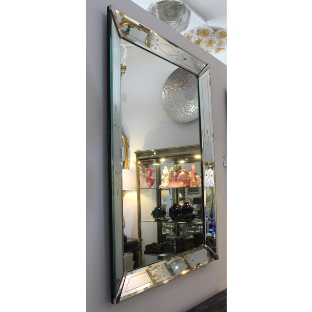 Vintage American Art Deco Mirror For Sale - Image 4 of 12