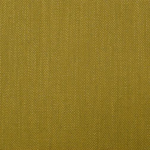 Belgian Herringbone Citron Green Fabric - 1 Yard For Sale - Image 3 of 3