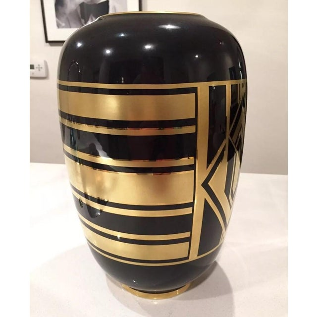 "Ralph Lauren ""Callia"" Diamond Art Deco Vase - Image 4 of 6"