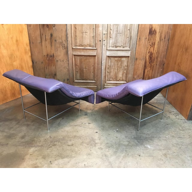 Vintage Mid Century Gerard Van Den Berg Butterfly Chairs- A Pair For Sale In Los Angeles - Image 6 of 13