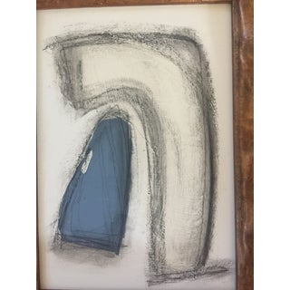Charcoal Abstract Drawing Vintage Frame Preview