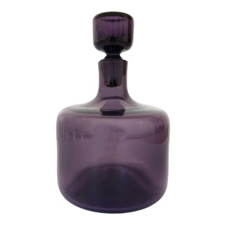 Amethyst Blenko Art Glass Decanter