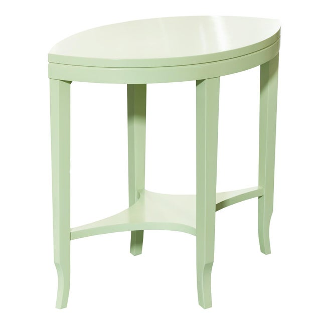 Boho Chic Kindel Knowledge Citrus Spear Table For Sale - Image 3 of 3