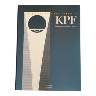 """1997 """"kpf: Selected and Current Works"""" First Edition Architectural Design Book For Sale"""