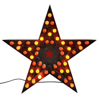 Industrial Steel Star Light For Sale