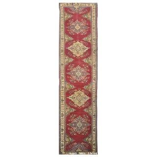 Vintage Persian Tabriz Rug - 2'5''x19'3'' For Sale