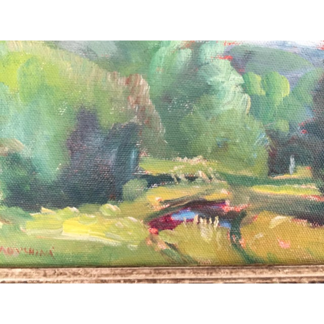 Missouri Ozark Countryside Impressionistic Plein Air Painting For Sale In Saint Louis - Image 6 of 8
