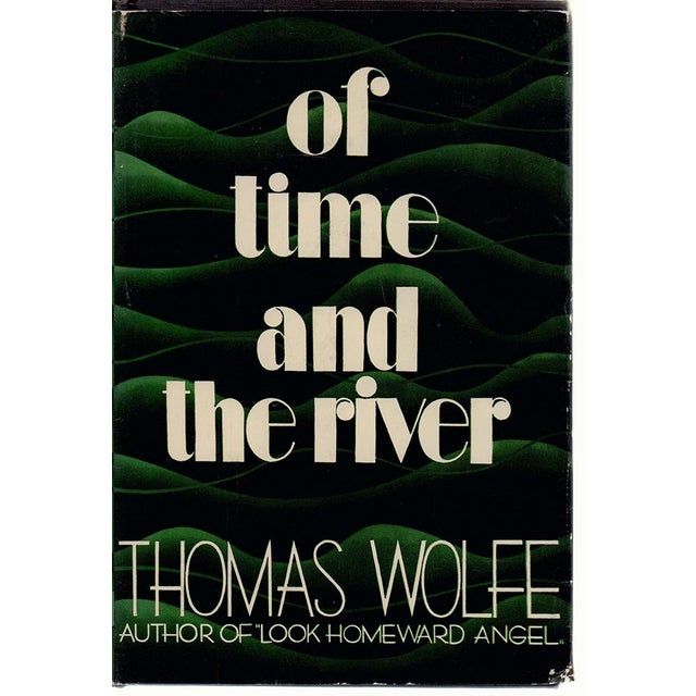 """Booth & Williams 1935 """"Of Time and the River: A Legend of Man's Hunger in His Youth"""" Collectible Book For Sale - Image 4 of 4"""