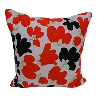 Vintage Finlandia Fabric Accent Pillow For Sale