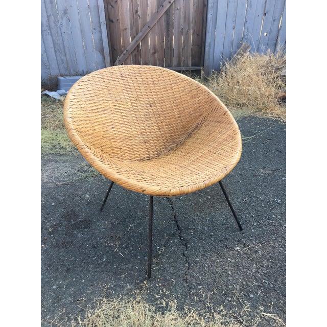 Mid-Century Modern Hoop Chair - Image 3 of 5